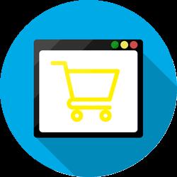 Ikona usługi Tworzenie sklepów internetowych